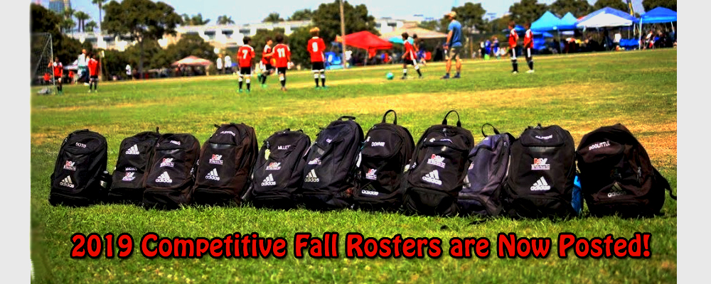 2019 Competitive Fall Rosters are Now Posted!